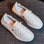 Load image into Gallery viewer, Women's Soft Leather Sneakers - monaveli -  - eprolo Women's Soft Leather Sneakers - mymonaveli.com