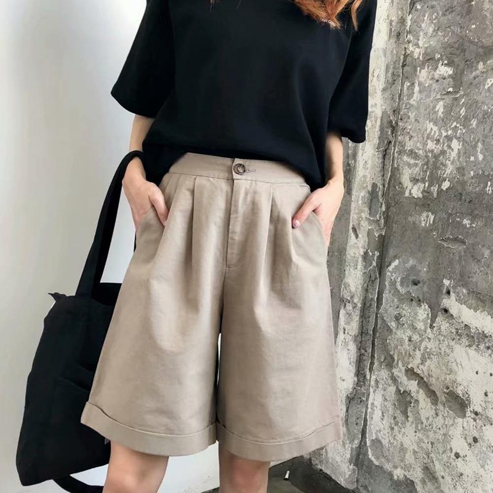 Fashion Linen Flare Pants for Women