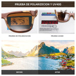 Load image into Gallery viewer, Bamboo Frame Polarized Sunglasses - monaveli -  - Bamboo Frame Polarized Sunglasses - mymonaveli.com
