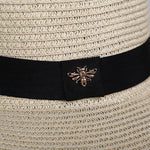Load image into Gallery viewer, Small Bee Straw Hats - monaveli -  - Small Bee Straw Hats - mymonaveli.com