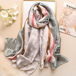 Load image into Gallery viewer, Women's Silk Scarf - monaveli -  - Women's Silk Scarf - mymonaveli.com