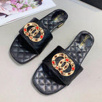 Load image into Gallery viewer, Women's Sheepskin Luxury Slippers - monaveli -  - Women's Sheepskin Luxury Slippers - mymonaveli.com