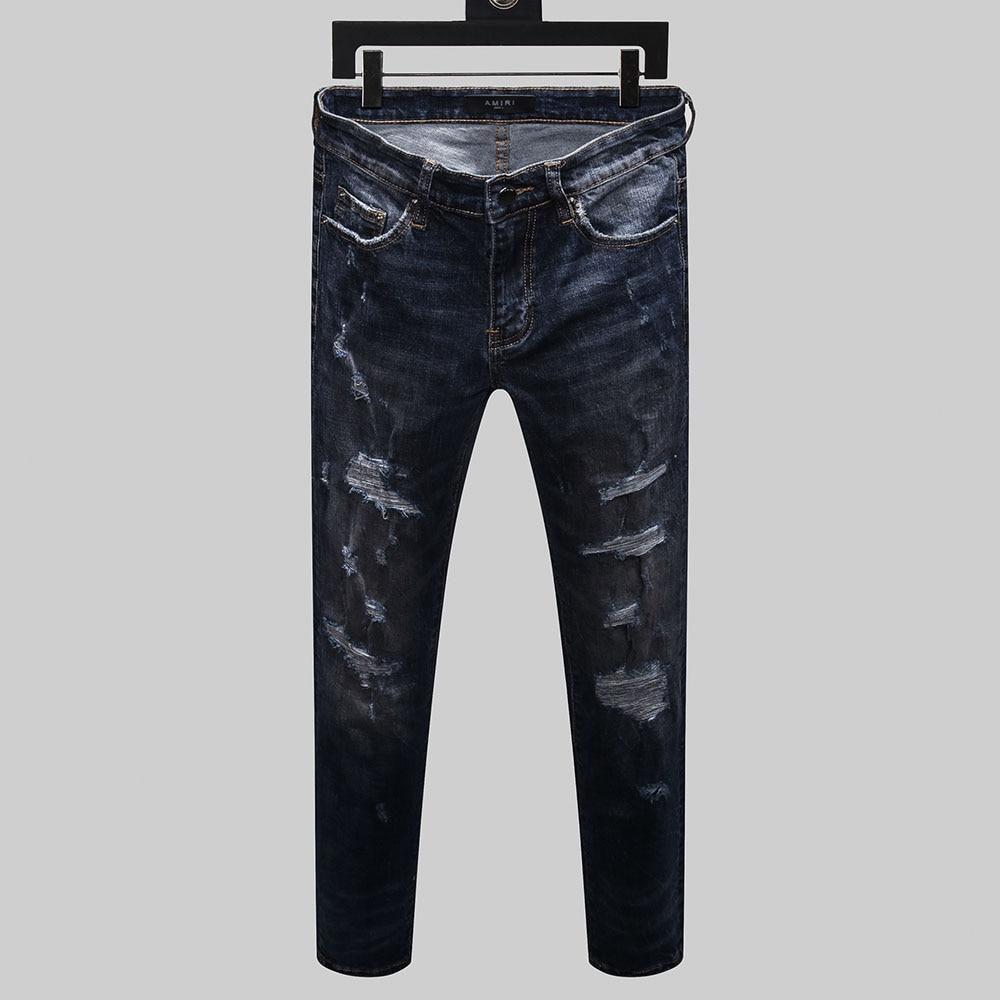 Men's Straight Denim Jeans - monaveli -  - Men's Straight Denim Jeans - mymonaveli.com