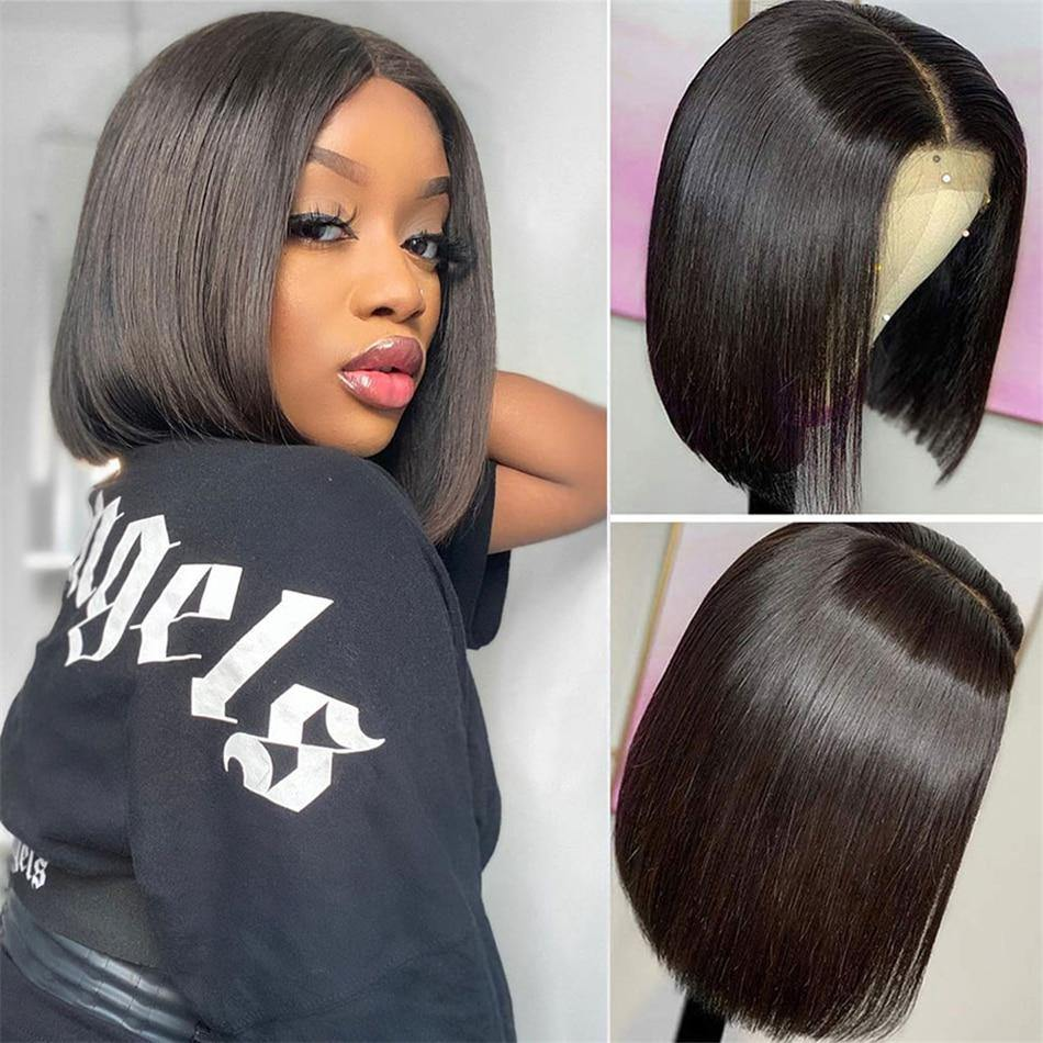 Bone Straight Lace Front Human Hair Wig - monaveli -  - Bone Straight Lace Front Human Hair Wig - mymonaveli.com