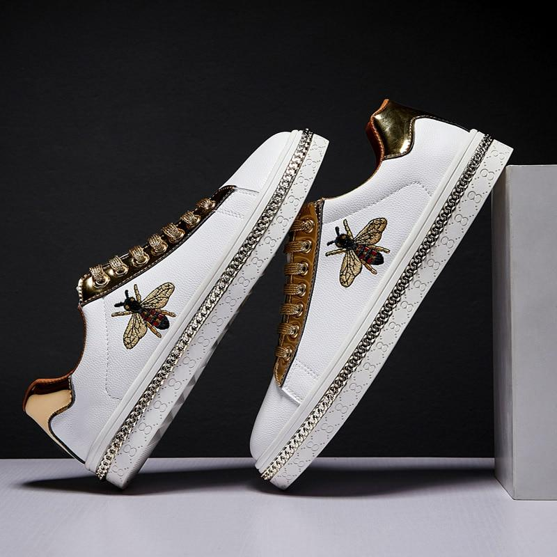 Luxury Embroidery Sneakers - monaveli -  - Luxury Embroidery Sneakers - mymonaveli.com