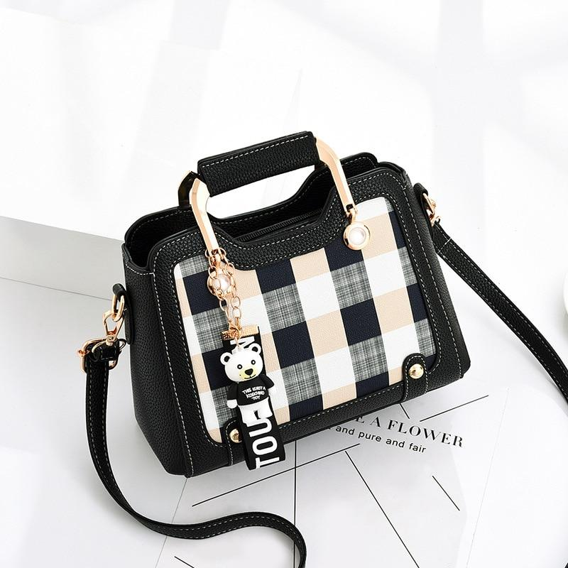 Casual Plaid Versatile Handbag - monaveli -  - Casual Plaid Versatile Handbag - mymonaveli.com