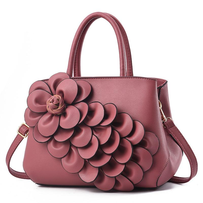 Luxury Designer Floral Shoulder bag - monaveli - bag - Luxury Designer Floral Shoulder bag - mymonaveli.com