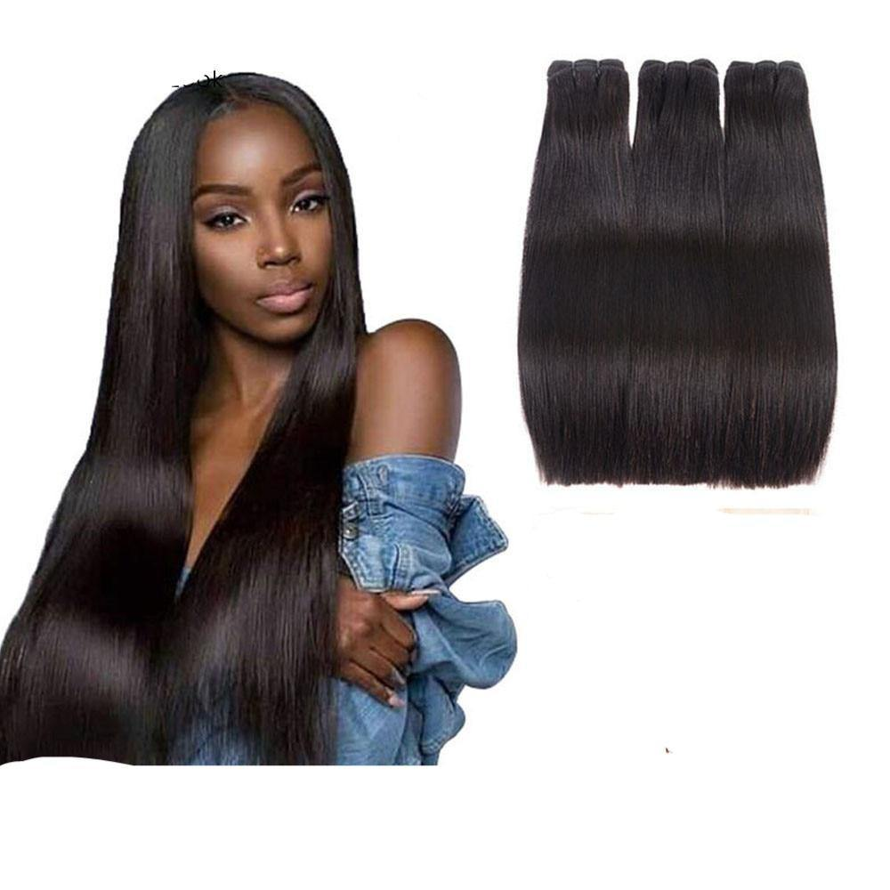 Bone Straight Human Virgin Hair With Closure - monaveli -  - Bone Straight Human Virgin Hair With Closure - mymonaveli.com