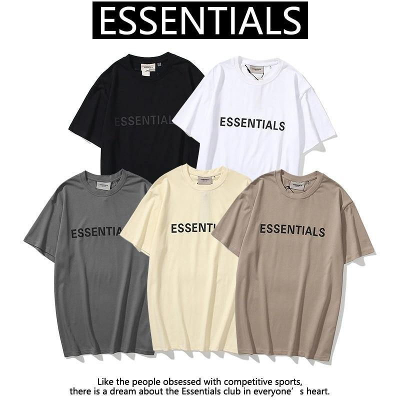 ESSENTIALS Short Sleeve Summer T-Shirt - monaveli -  - ESSENTIALS Short Sleeve Summer T-Shirt - mymonaveli.com
