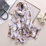 Load image into Gallery viewer, Women Silk Scarf - monaveli -  - Women Silk Scarf - mymonaveli.com