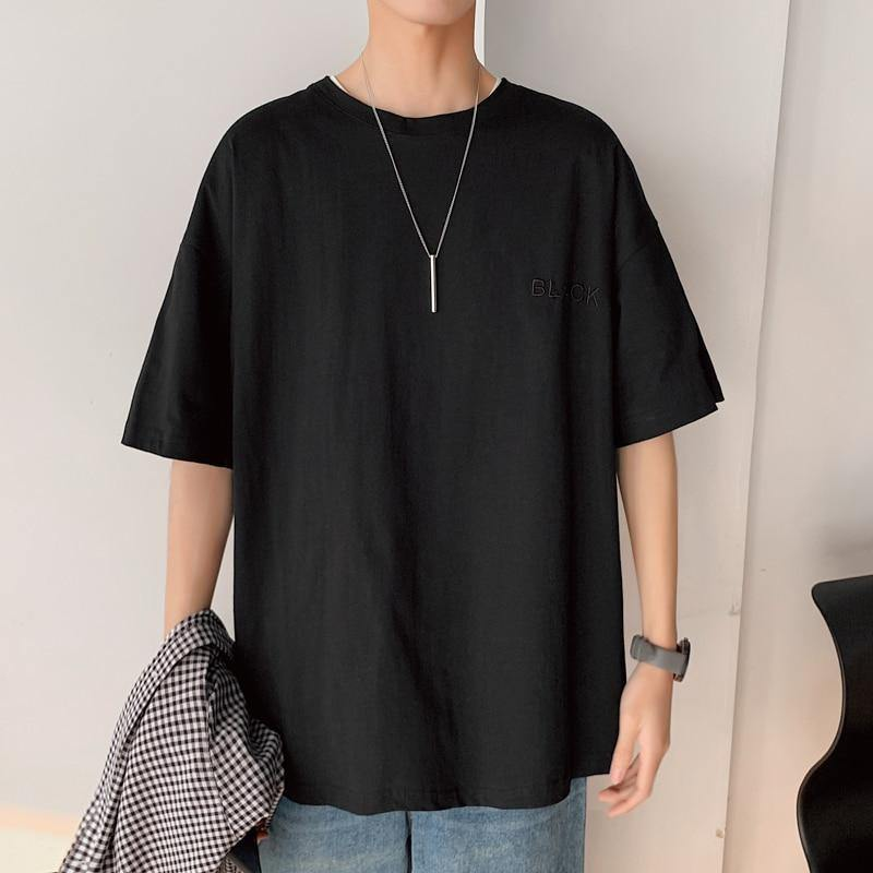 Men's OverSize Short Sleeve Loose T-Shirt - monaveli -  - Men's OverSize Short Sleeve Loose T-Shirt - mymonaveli.com