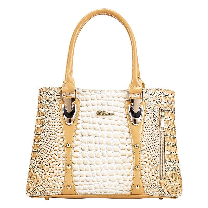 Crocodile Skin Luxury Handbag - monaveli -  - Crocodile Skin Luxury Handbag - mymonaveli.com