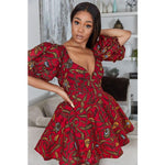 Load image into Gallery viewer, Elegant Dashiki Print African Dresses for Women - monaveli -  - Elegant Dashiki Print African Dresses for Women - mymonaveli.com