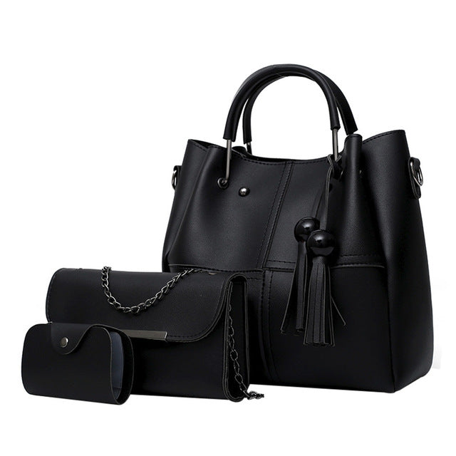 Tassel Shoulder Bag for Women