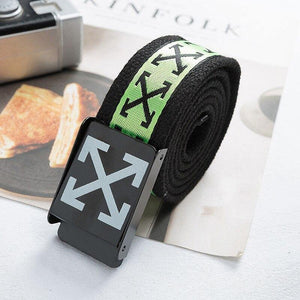 Off White Canvas Belt - monaveli -  - Off White Canvas Belt - mymonaveli.com
