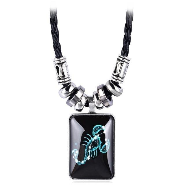 Zodiac Sign Horoscope Astrology Pendant Necklace Jewelry - monaveli -  - Zodiac Sign Horoscope Astrology Pendant Necklace Jewelry - mymonaveli.com