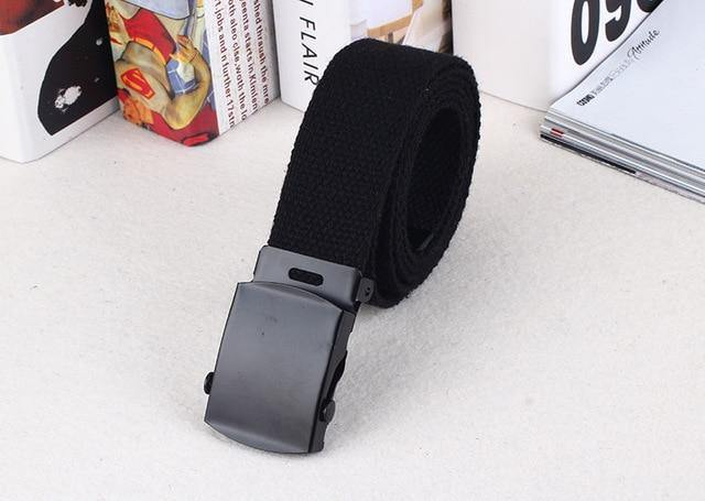 24 styles Belts For Women Canvas Casual Men Designer Belt Ladies Waist Strap Jeans Trouser Black Female Harajuku Waistband -  - monaveli - monaveli