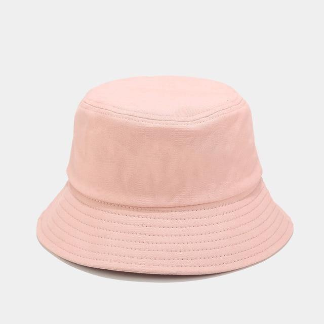 Unisex Summer Foldable Bucket Hat Women Outdoor Sunscreen Cotton Fishing Hunting Cap Men Bob Chapeau Sun Hats -  - monaveli - monaveli
