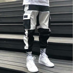 Load image into Gallery viewer, Streetwear Men's Multi Pockets Cargo Harem Pants Hip Hop Casual Male Track Pants Joggers Trousers Fashion Harajuku Men Pants -  - monaveli - monaveli