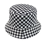 Load image into Gallery viewer, FOXMOTHER New Fashion Reversible Black White Cow Pattern Bucket Hats Fisherman Caps For Women Gorras Summer -  - monaveli - monaveli