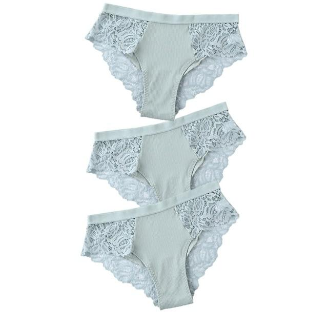 3 Pcs Cotton Briefs - monaveli -  - 3 Pcs Cotton Briefs - mymonaveli.com