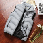 Load image into Gallery viewer, Fashion Mens Jacket Sleeveless Vest Spring Thermal Soft Vests Casual Coats Male Cotton Men's Vest Men Thicken Waistcoat 8XL -  - monaveli - monaveli