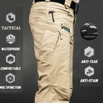 Load image into Gallery viewer, Mens Camouflage Cargo Pants Elastic Multiple Pocket  Military Male Trousers Outdoor Joggers Pant Plus Size Tacitcal Pants Men -  - monaveli - monaveli