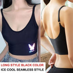 Load image into Gallery viewer, Women Tank Crop Top Seamless Underwear Female Crop Tops Sexy Lingerie Intimates With Removable Padded Camisole Femme Fashion -  - monaveli - monaveli