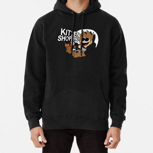 Eddsworld Kitten Shopping Hoodie Eddsworld Kitten Shopping Cat Edd Tord Kitten Shopping Eddsworld Kitten Shopping Christmas -  - monaveli - monaveli