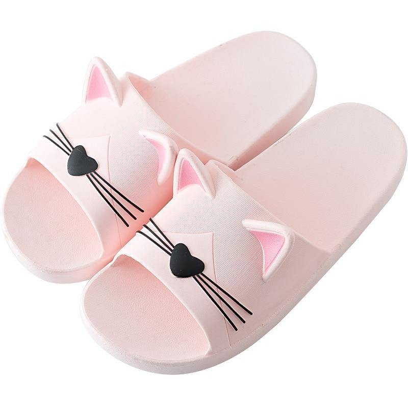 Cute Cat Women's Slippers - monaveli -  - Cute Cat Women's Slippers - mymonaveli.com