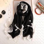 Load image into Gallery viewer, Designer Silk Scarves for Women