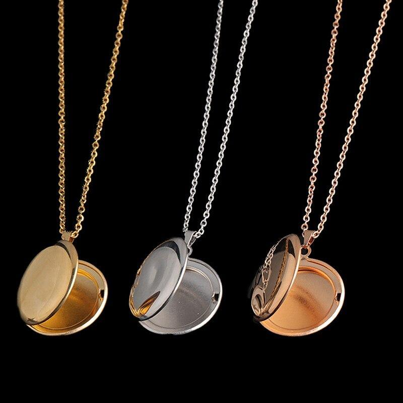 Photo Locket Pendant Necklaces For Women & Men - monaveli -  - Photo Locket Pendant Necklaces For Women & Men - mymonaveli.com