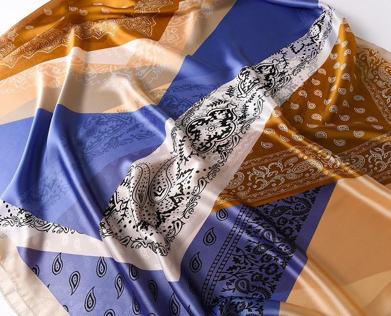 Designer Silk Scarves for Women