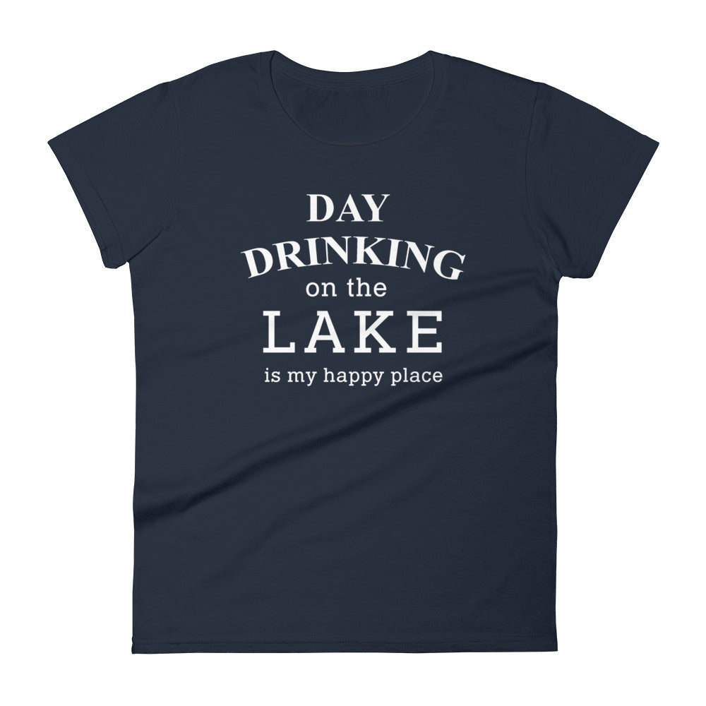 Day Drinking On The Lake Womens Tee