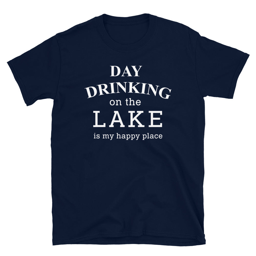 Day Drinking On The Lake Unisex Tee