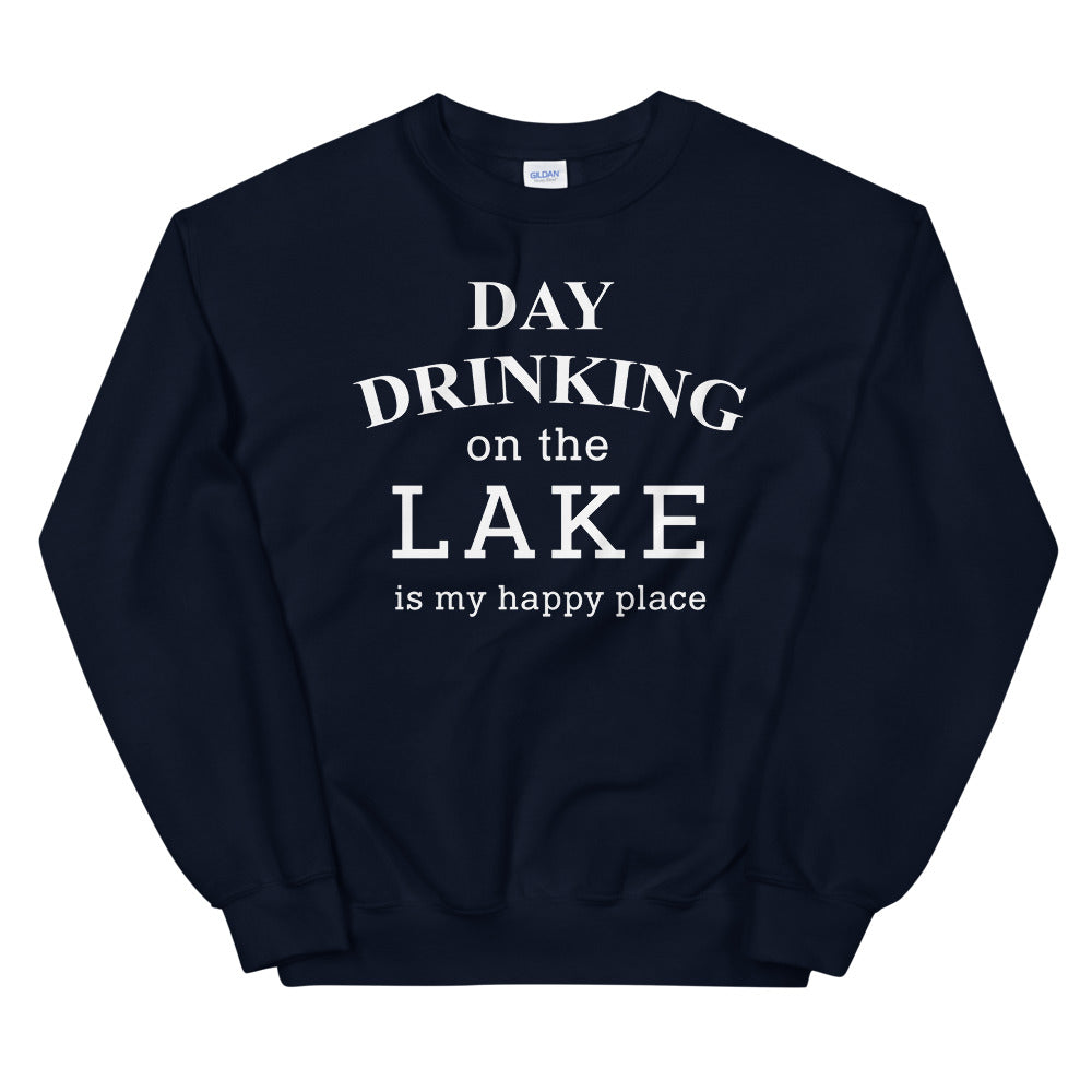 Day Drinking On The Lake Unisex Sweatshirt