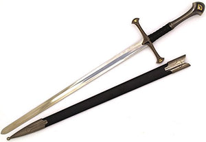 Snake Eye Tactical Medieval Crusader Sword with Scabbard