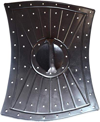 "Allbeststuff Medieval Barbarian Armor Templar Viking 18"" Iron Shield ABS"