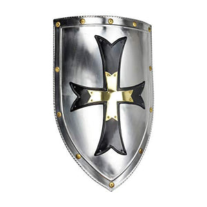 Armor Venue Crusader Steel Shield - 18 Gauge Steel