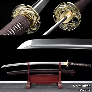 Real katana sword-1060 Carbon steel Handmade Full Tang Sharp