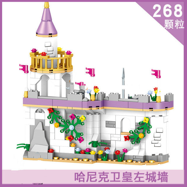 Medieval Castle Blocks Knights Crusaders Soldier Rome Spartacus Warrior Figures Pirates Caribbean Pirate Ship Model Bricks Toys