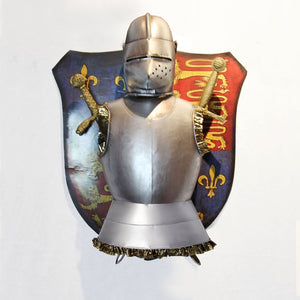 Medieval retro shield armor wall hanging window props decorative crafts to do the old European wall ornaments pendant creative
