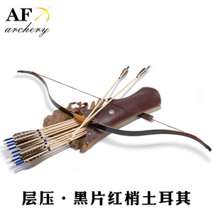 "49"" Customized 20-55# Archery Turkish Bow Traditional Laminated Bow Handmade Recurve Bow Outdoor Hunting Shooting Longbow"
