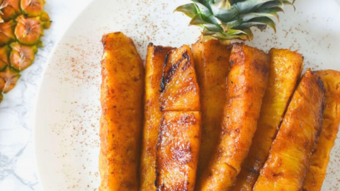 Easy Brown Sugar Grilled Pineapple Food Faith Fitness