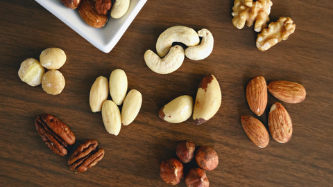 nuts and seeds lower stress whole harvest