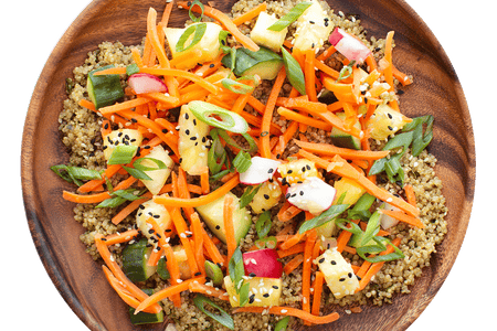 Hawaiian Quinoa Salad