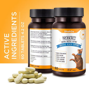 DhohOo® Supplements Digestive for Cat