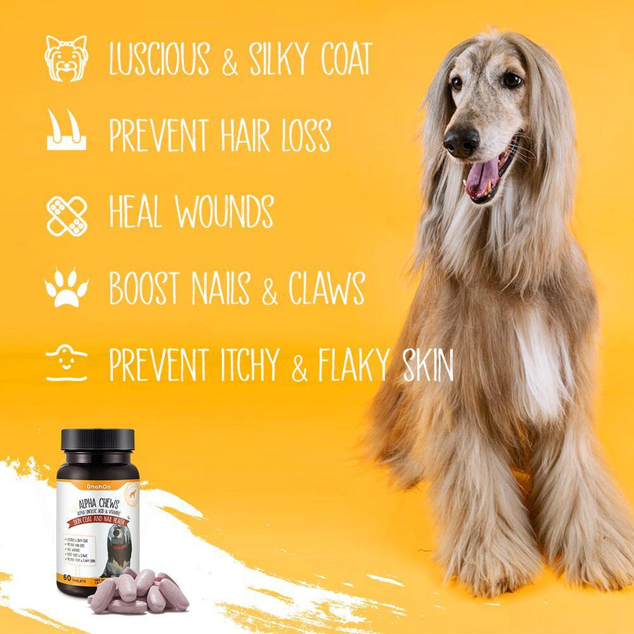 DhohOo® Supplements Skin & Nail Health for Dog