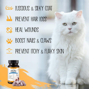 DhohOo® Supplements Skin & Nail Health for Cat