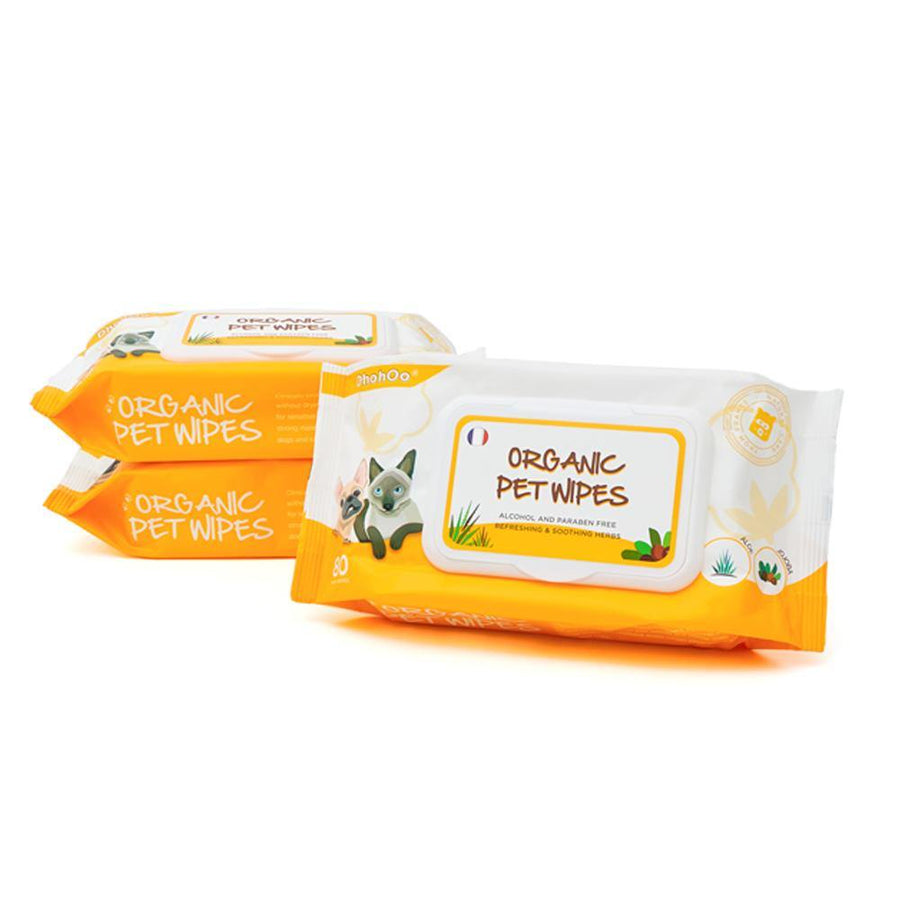 DHOHOO® Organic Pet Wipes ( 3 packs in 1 combo )